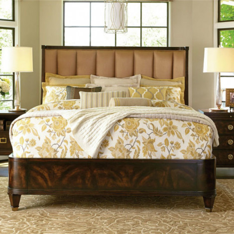 Кровать Stephen's Upholstered King