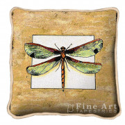 Декоративная подушка Butterfly Dragonfly I