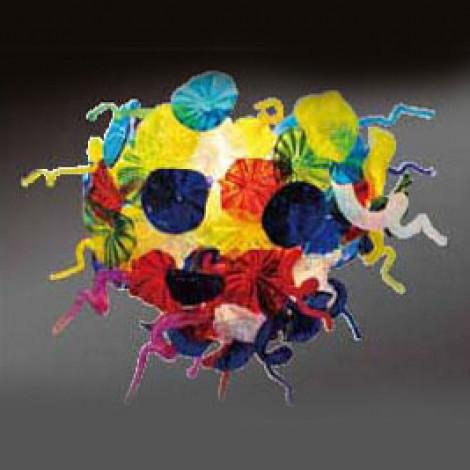Светильник потолочный цветной Fiore Special Mix Chandelier