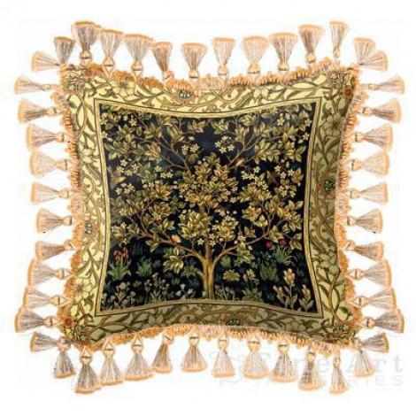 Декоративная подушка Tree of Life Midnight Blue
