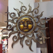 """Настенный декор """"Солнце"""""""